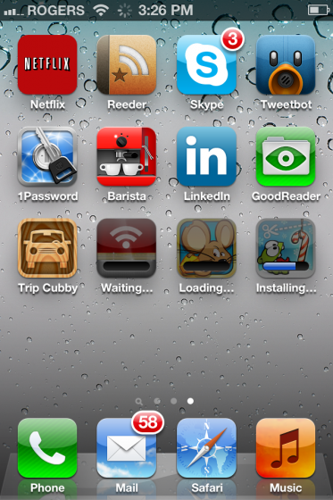 iOS 5 Makes Installing Multiple Apps / Updates Faster