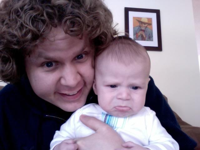 sometimes babies get sad.